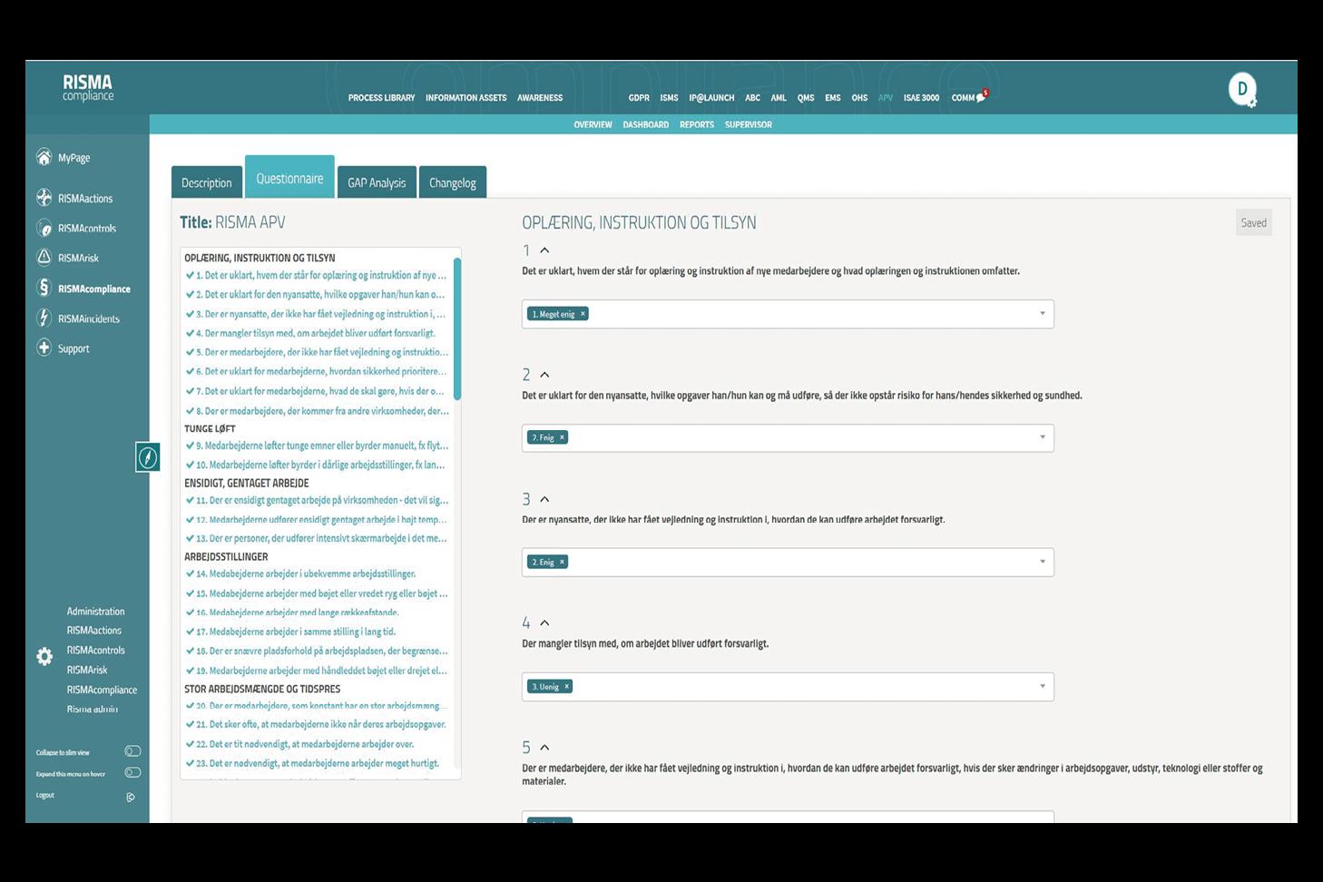 APV_Arbejdspladsvurderinger_Compliance Solution