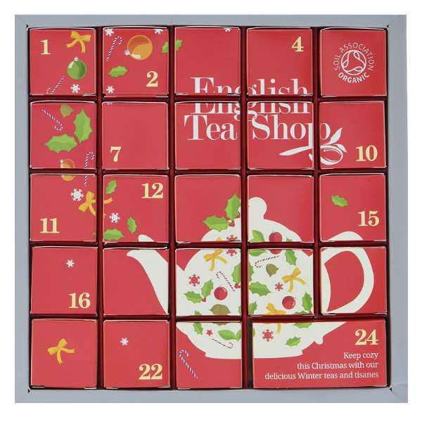 "Tee Adventskalender ""Pink Christmas"" mit würzigen Bio-Tees"