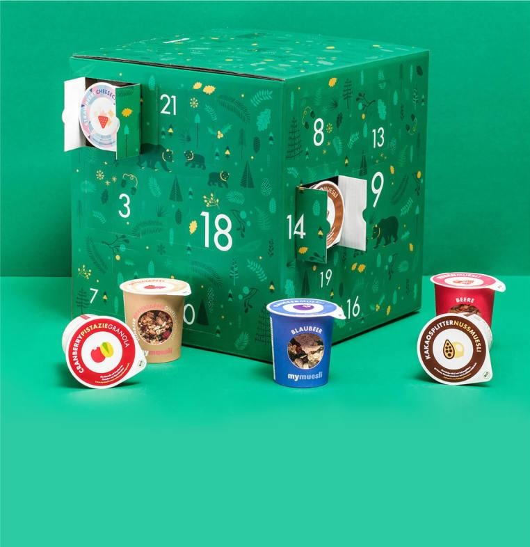 Müsli Adventskalender