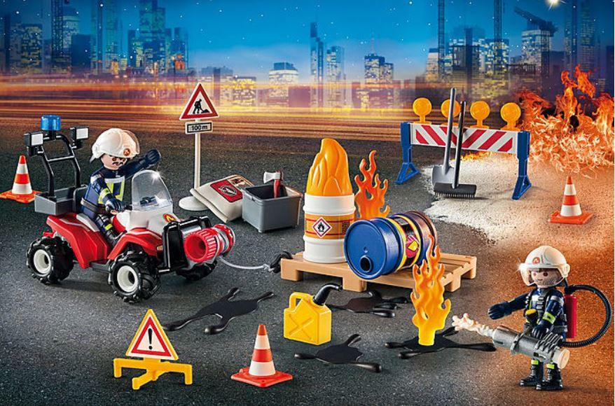 """Adventskalender """"Feuerwehreinsatz auf der Baustelle"""" (9486) - Bild 3"""