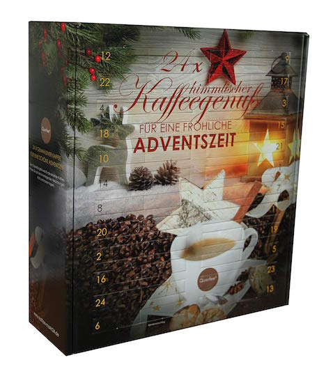 Querfee Kaffee-Adventskalender
