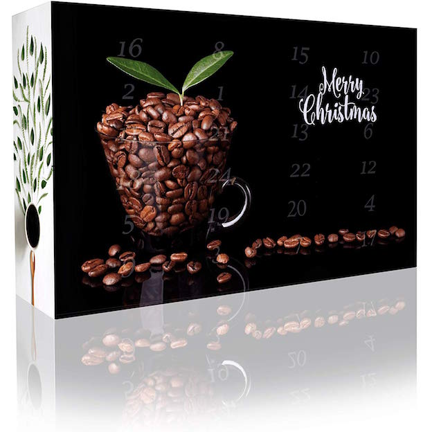 The Coffee&Tea Company Entkoffeinierter Kaffee-Adventskalender
