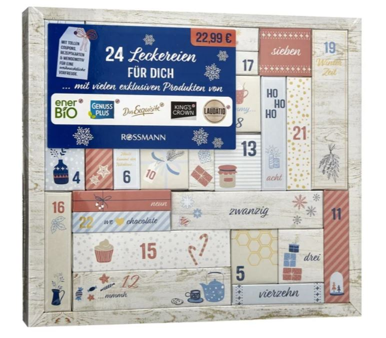 Adventskalender Lebensmittel 2019