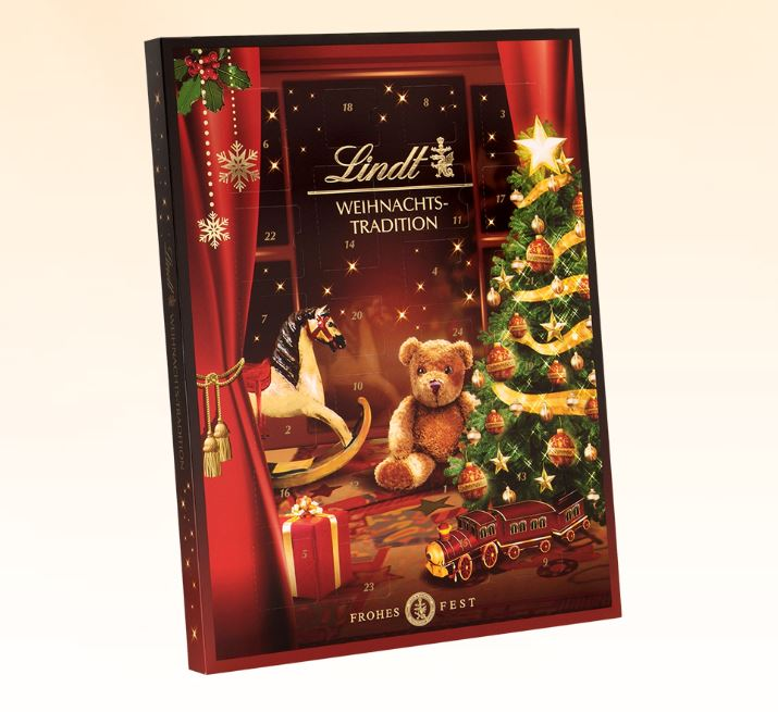 Weihnachts-Tradition Adventskalender