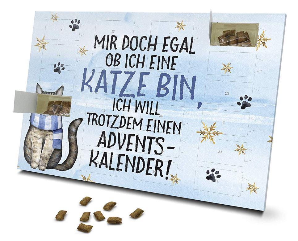 Weihnachtskalender für Katzen