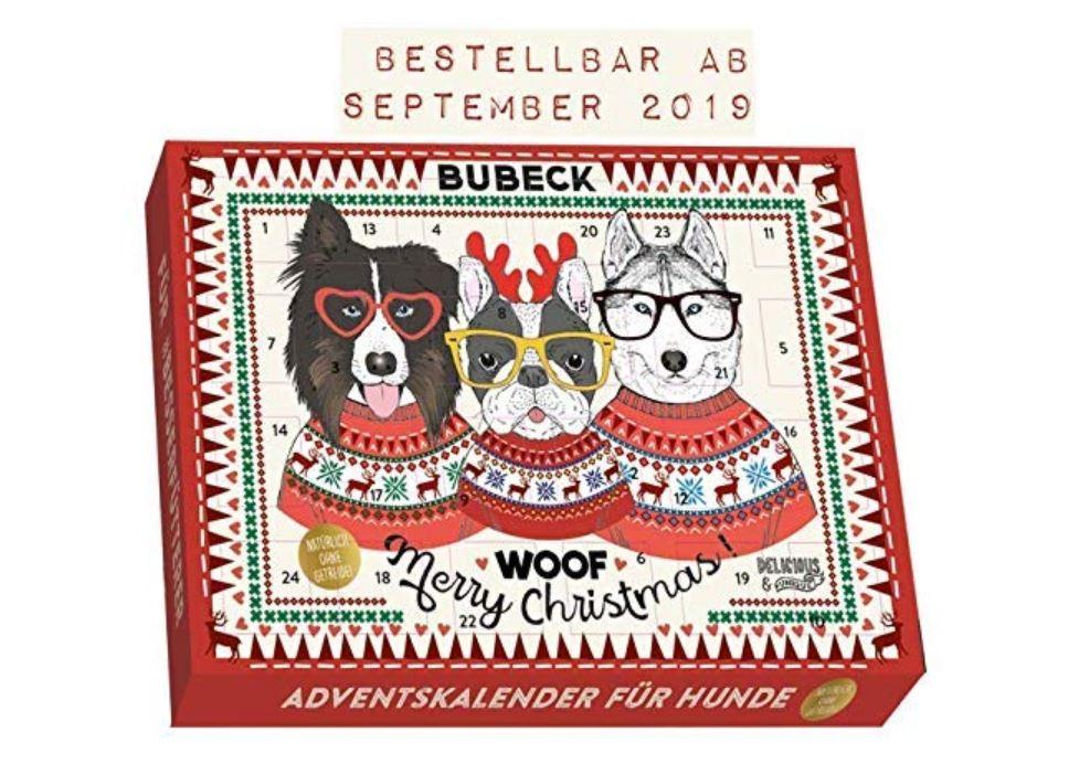 Adventskalender für Hunde (getreidefrei)