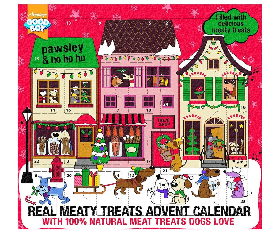 Good Boy Meaty Treats Adventskalender