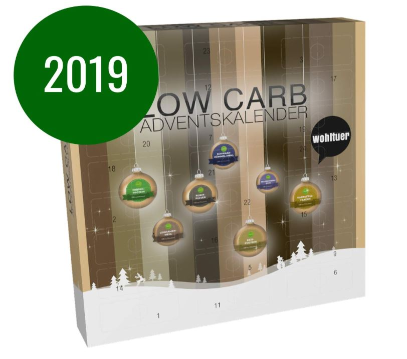 Low Carb Adventskalender
