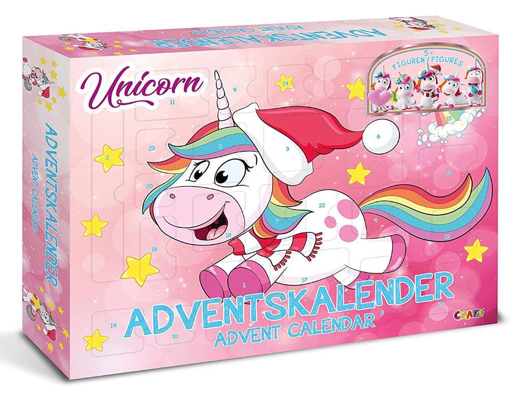 Einhorn Weihnachtskalender für Mädchen