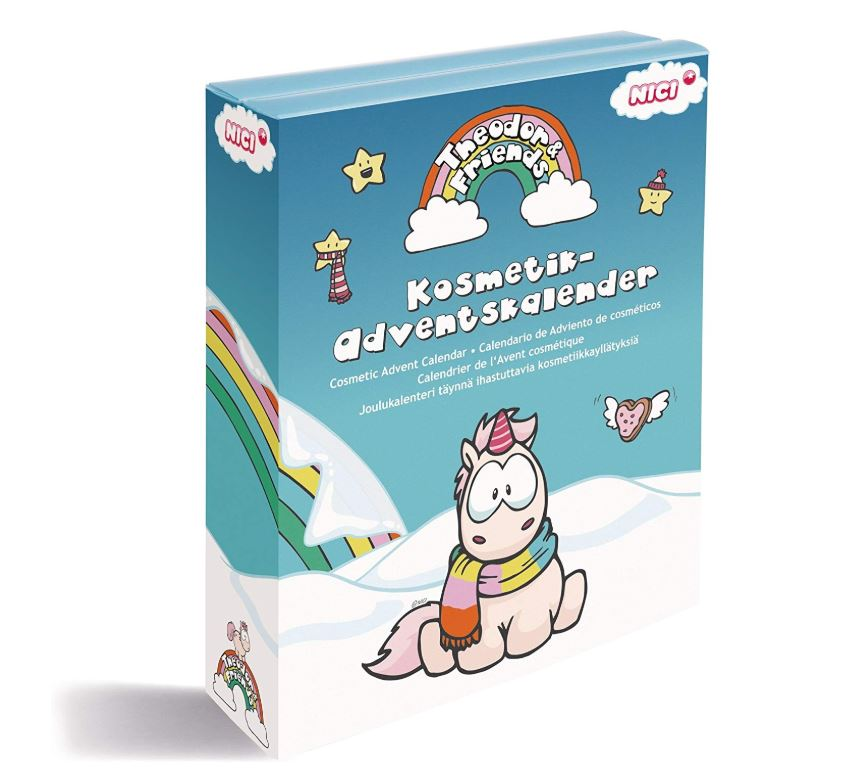 """Theodor & Friends Winterzauber"" Kosmetik-Adventskalender"