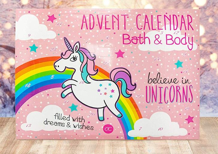 Adventskalender Bath & Body EINHORN