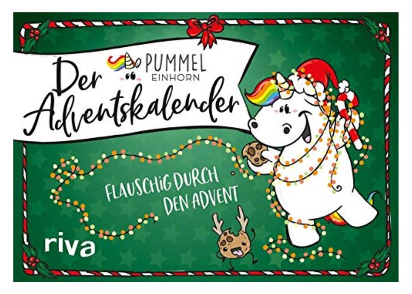 Pummeleinhorn-Adventskalender: Flauschig durch den Advent
