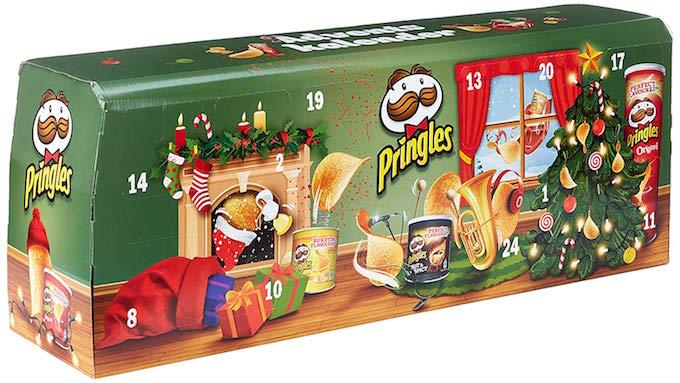 Pringles Adventskalender Modell Grün