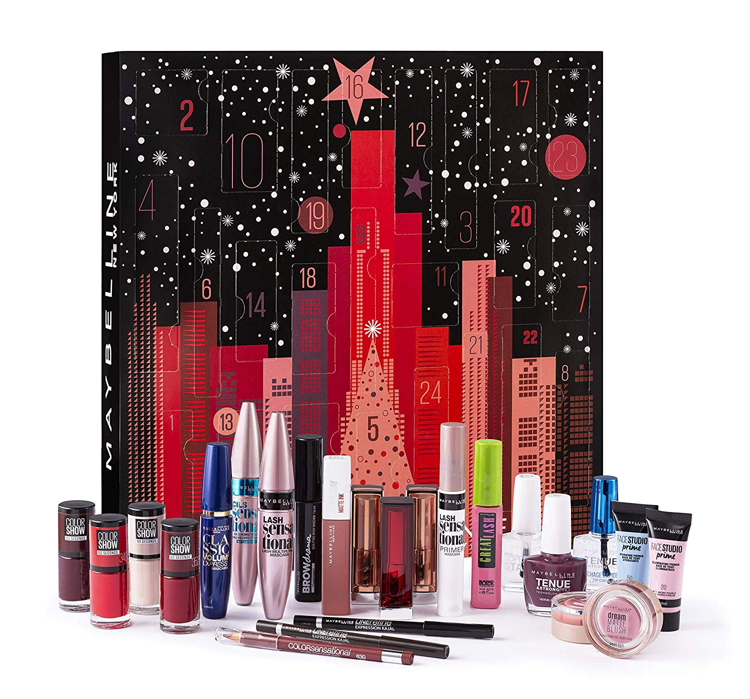 Maybelline New York Beauty-Adventskalender