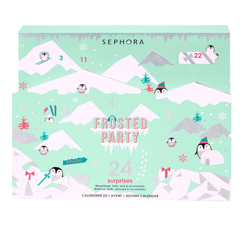 Sephora Adventskalender Frosted Party