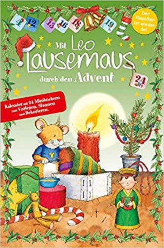Leo Lausemaus Adventskalender mit Mini-Büchern