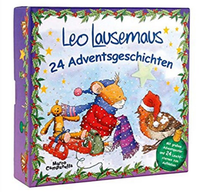 Leo Lausemaus Adventskalender: Adventsbox