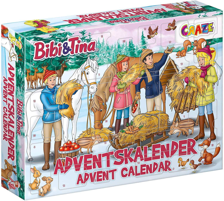 Weihnachtskalender B&T für Mädchen