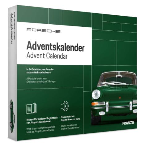 Porsche 911 Adventskalender