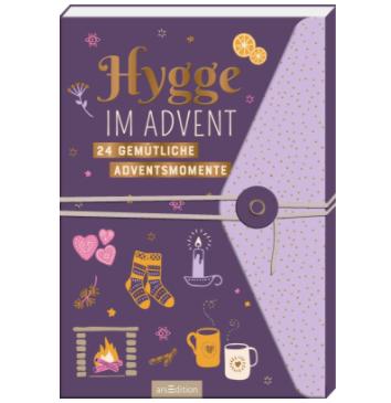 Hygge im Advent - Adventskalender Aufschneidebuch