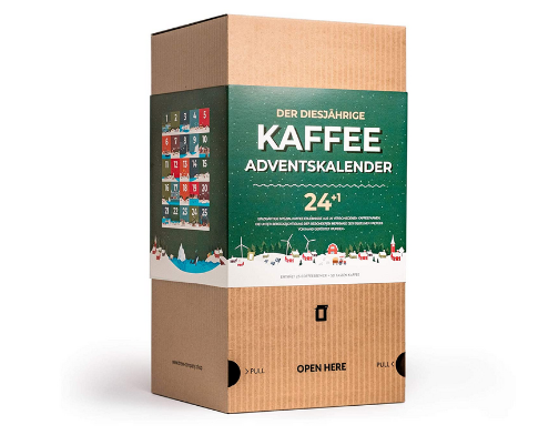 Gourmet Kaffee Adventskalender 2020