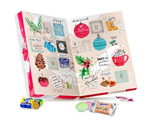 Veganer Adventskalender mit Süßigkeiten (2020)