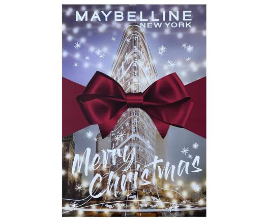 Maybelline New York Adventskalender