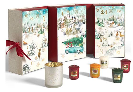 Votivkerzen & Teelichter Adventskalender