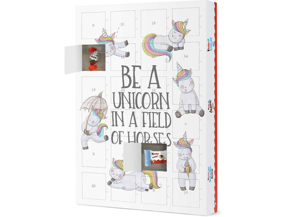 Be A Unicorn In A Field of Horses Adventskalender