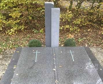 Doppelgrabstein Mainz