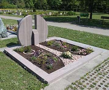 Doppelgrabstein Zürich