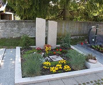 Doppelgrabstein Ludwigsburg