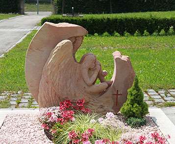 Doppelgrabstein Engel Frankenhardt