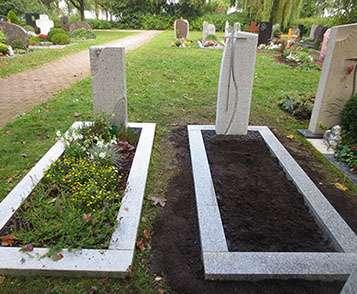 Grabstein aus einer Hand schöne günstige und moderne Grabsteine Einzelgrabstein in Deutschland produziert Grabstein preise Grabstein kosten Grabstein kaufen Grabstein online