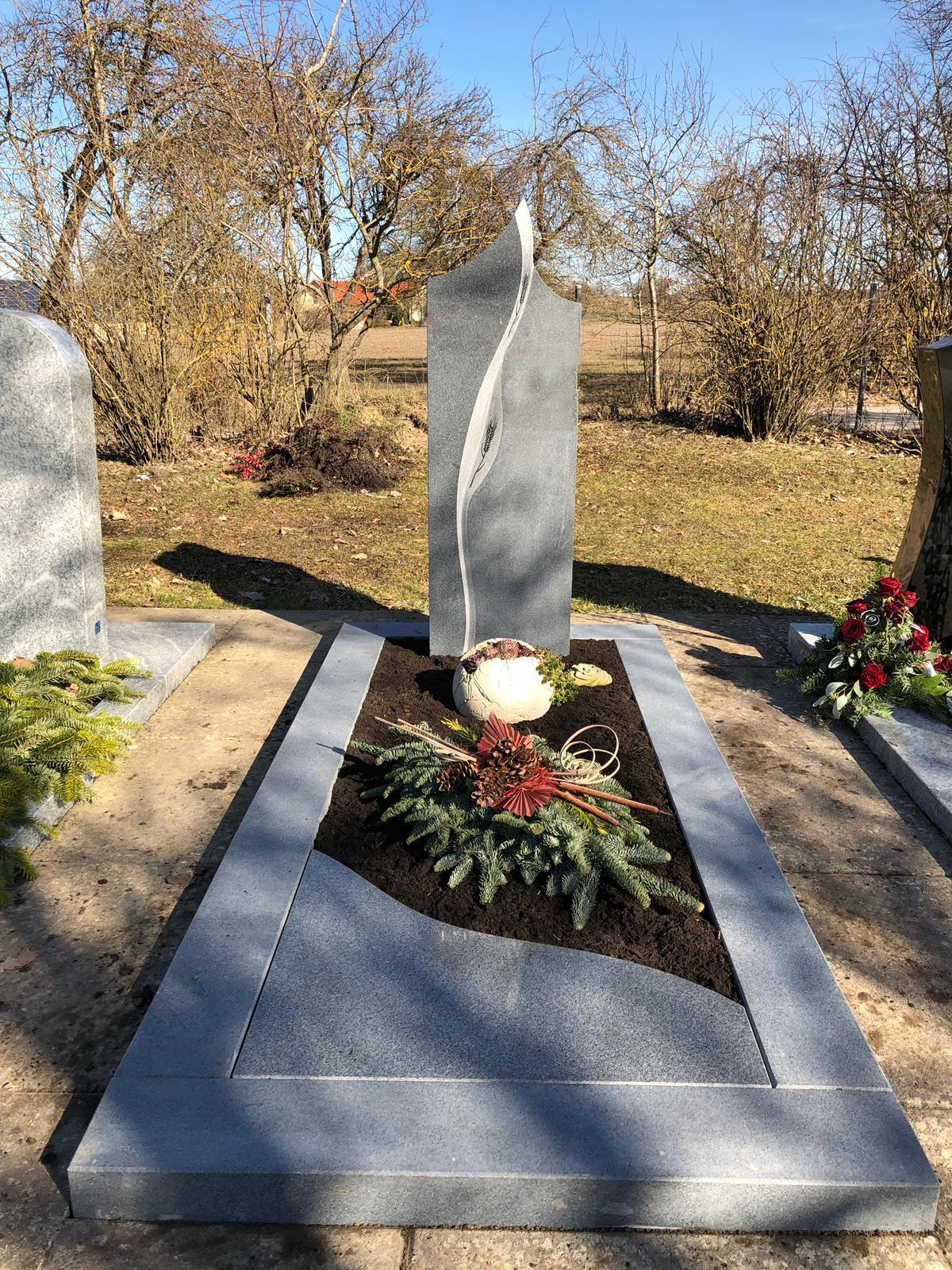 schöne günstige und moderne Grabsteine Einzelgrabstein in Deutschland produziert Grabstein preise Grabstein kosten Grabstein kaufen Grabstein online kaufen