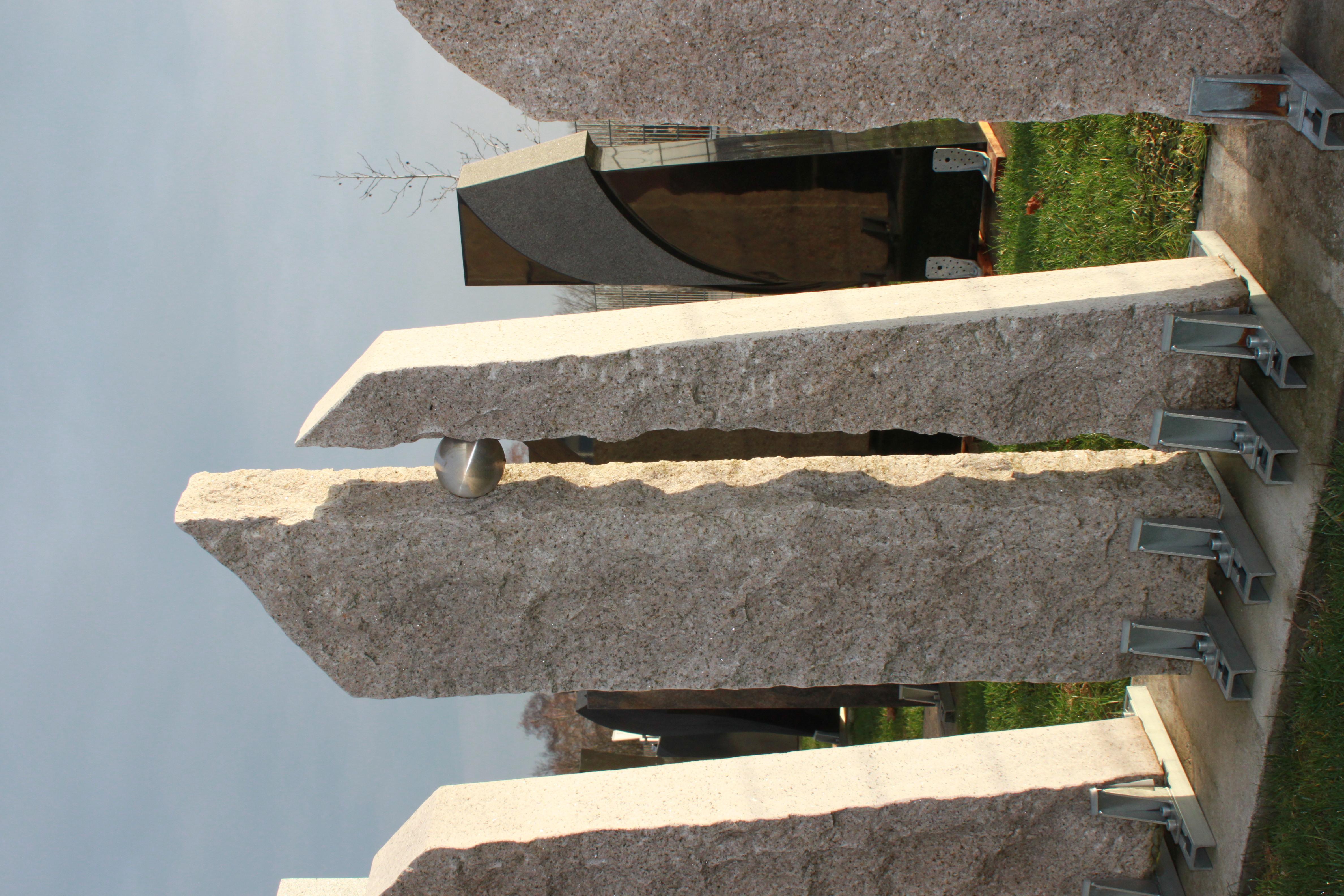 doppelgrabstein billig kalkstein modern groß günstig