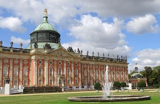 Potsdam Belvedere Vorderansicht