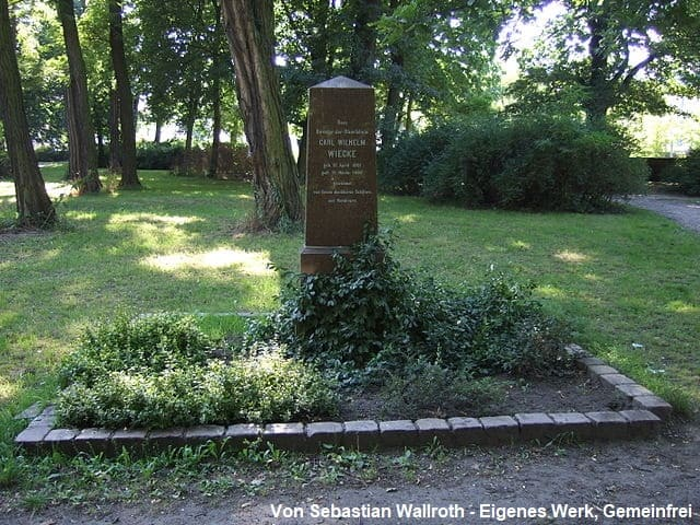 Grabmal Kleistpark Frankfurt (Oder)