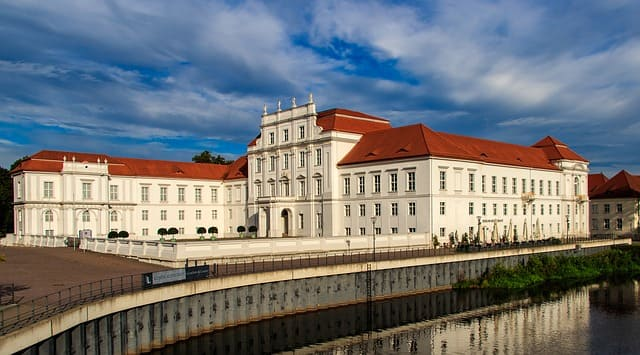 Grabsteine in Oranienburg - Schloss