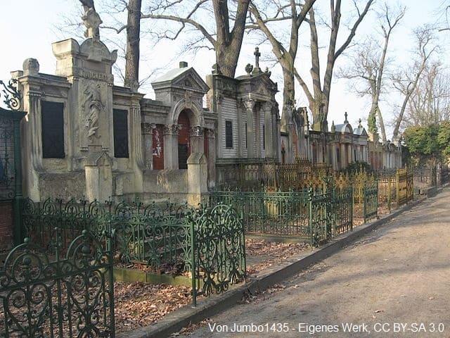 Grabsteine auf Friedhof Oranienburg