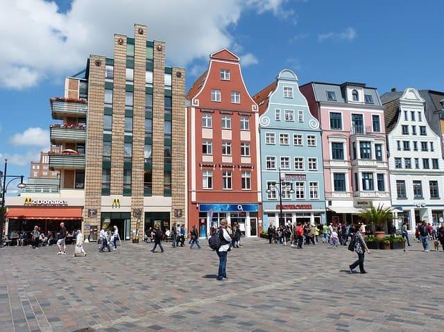 Rostock Innenstadt Messerschmidt Steinmetz