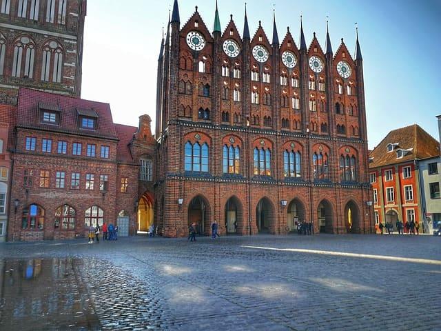 Messerschmidt in Stralsund Stadtansicht