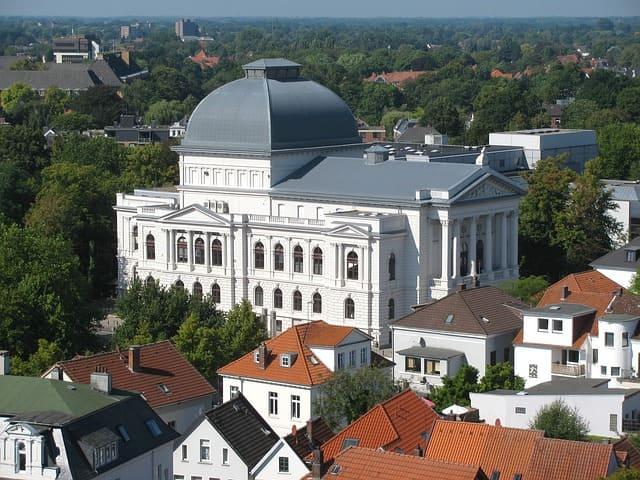 Grabstein in Oldenburg