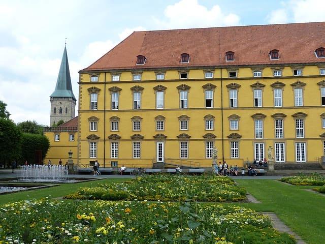 Grabstein in Osnabrück Schloss