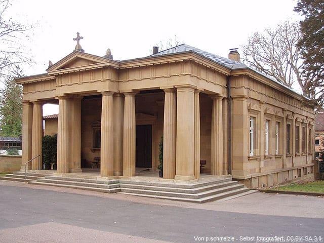 Grabstein in Heilbronn Friedhof