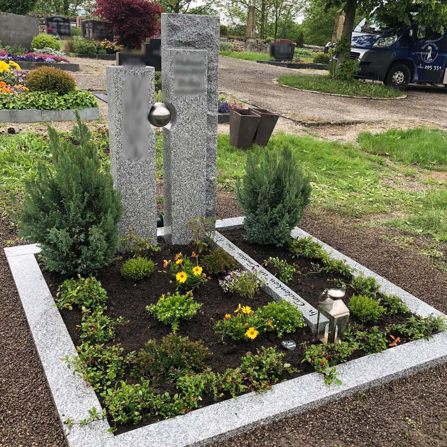 schönstes Grab vom Steinmetz in Deutschland
