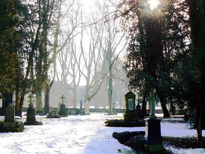 winterliche-Ansicht-Friedhof-Göppingen