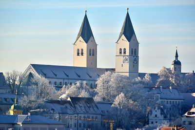 Freising-Dom-Freisinger Dom-Bayern
