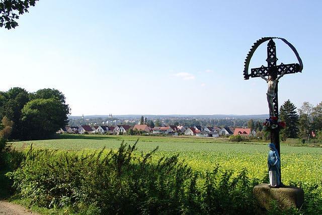 Weiden-Oberpfalz-Straßenkreuz