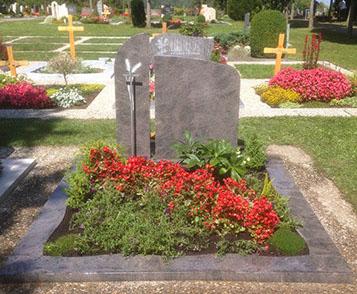 Doppelgrabstein Garmisch-Partenkirchen